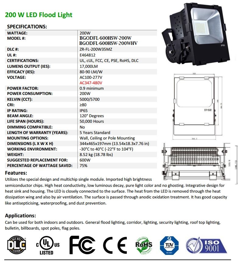 200W-LED-Flood-Light-Fixtureccomplete-spec