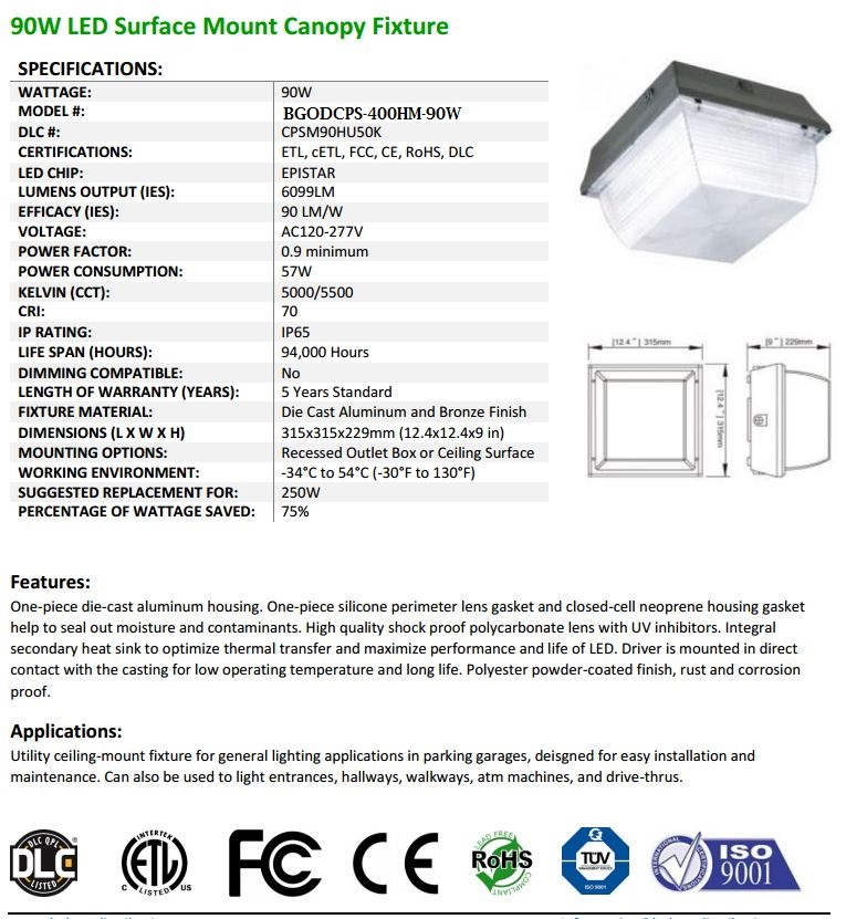 90-Park-Garage-Surface-Mounted-Canopy-Fixtures